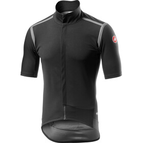 Castelli Gabba Rain Or Shine Kurzarm Trikot Herren light black